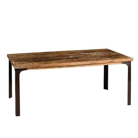 tavolo ferro legno tavolo legno industrial base ferro mobili sconti vendita