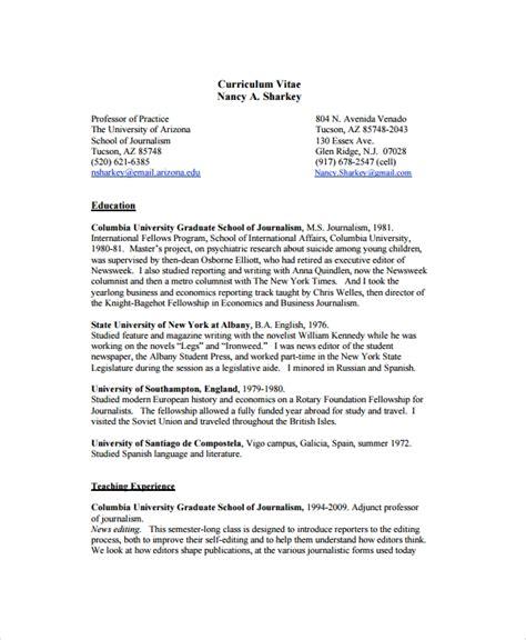 copy editor resume templates sample templates