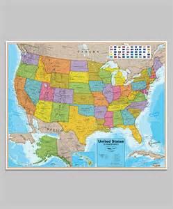 Map United States Flag