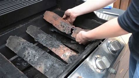 replace grill part heat shield youtube