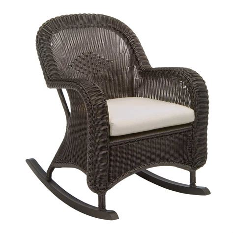 wicker patio chairs classic outdoor wicker rocking chair