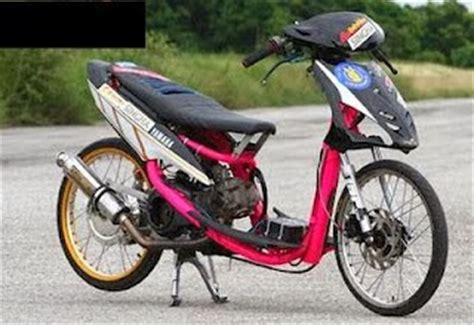 Foto Mio Drag by Gambar Motor Yamaha Mio Modif Drag Race R Way Collection