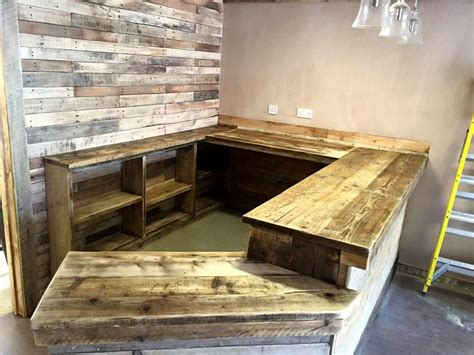 gorgeous  cost pallet bar diy ideas   home