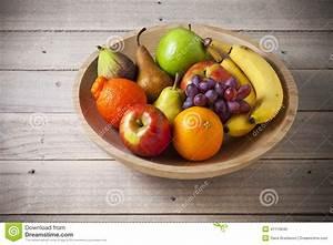 Bowl Whole Fruit Wood Stock Photo Image: 41115840