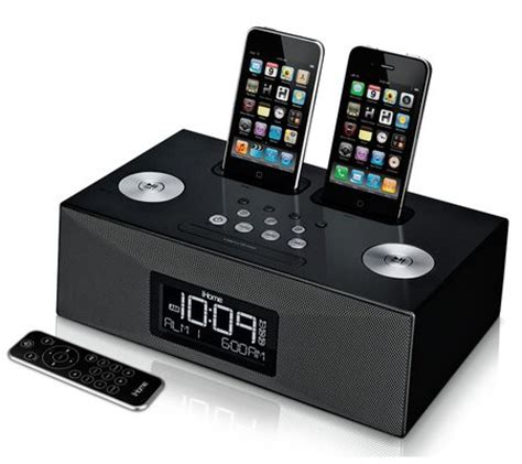 iphone alarm clock ihome ip86 dual dock iphone alarm clock review