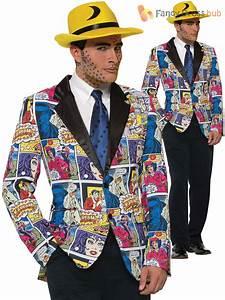 Pop Art Kleidung : adult 50s pop art blazer mens comic book fancy dress costume andy warhol outfit ebay ~ Indierocktalk.com Haus und Dekorationen