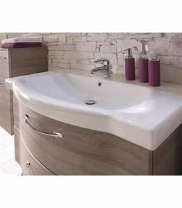 Meuble Salle De Bain Suspendu : meuble suspendu salle de bain argona 97 banyo ~ Edinachiropracticcenter.com Idées de Décoration