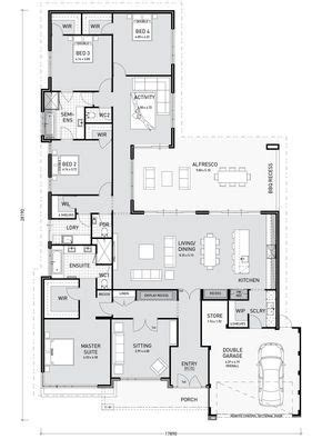 Bedroom Blueprint Activity by Floor Plan Friday Activity Room Adjoins Bedroom Wing
