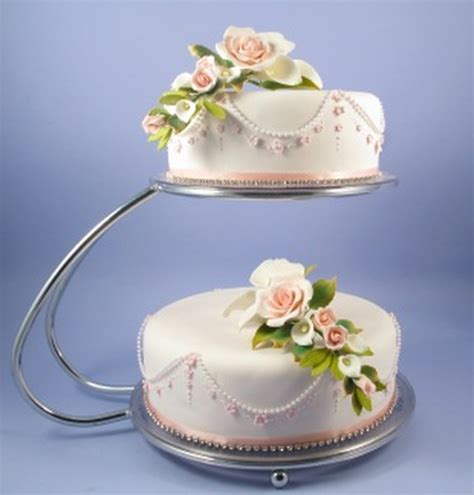 tier  shape silver chrome cake stand hire stand