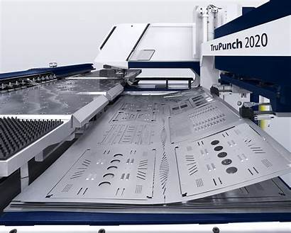 Punch Punching Trumpf Metal Sheet Cnc Machine