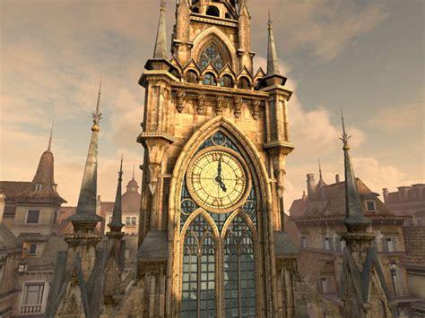 clock tower  screensaver  animated  screensaver