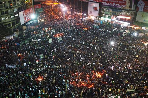 shahbag protests  dhaka