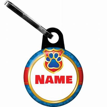 Personalized Pup Command Zipper Pull Each Includes