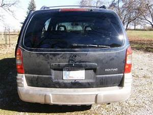 Sell Used Pontiac Montana Mini Van Seats 8 People In Boswell  Indiana  United States  For Us