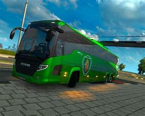 Memo Templet Ets2 Scania Touring Bus 1 33 X Simulator Games Mods
