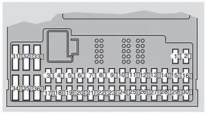 Volvo Xc90 Mk1  First Generation  2009  - Fuse Box Diagram