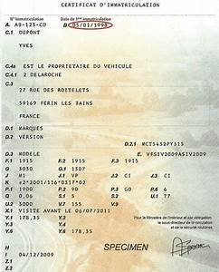 Code Moteur Carte Grise : comment lire un certificat d 39 immatriculation vroomly ~ Maxctalentgroup.com Avis de Voitures