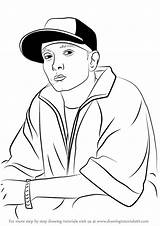 Eminem Draw Drawing Coloring Pages Easy Rappers Step Drake Cartoon Rapper Drawingtutorials101 Tutorials Printable Getcolorings Learn Getdrawings Dibujos Con sketch template