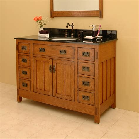 American Craftsman Vanity Mirror Bathroom