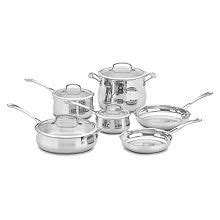 berghoff earthchef  pc copper clad cookware set cookware set cookware set stainless steel