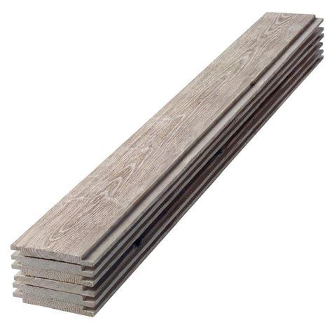 1 X 8 Shiplap Pine by 1 In X 6 In X 8 Ft Barn Wood Gray Shiplap Pine Board 6