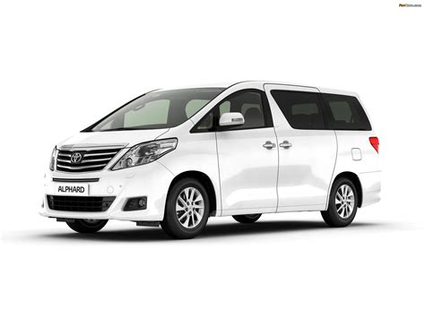 Toyota Alphard Backgrounds by Toyota Alphard Ru Spec H20w 2011 Wallpapers 1920x1440