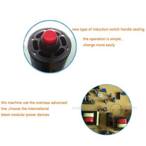 dcgy  portable induction sealing machine aluminum foil capper honey packaging equipment mm
