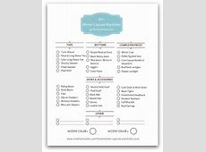 Printables GuidesChecklistsWorksheets — Now THAT I Can