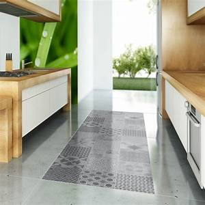Stickers Carreaux De Ciment : stickers carreaux de ciment sol java anti d rapant ~ Melissatoandfro.com Idées de Décoration