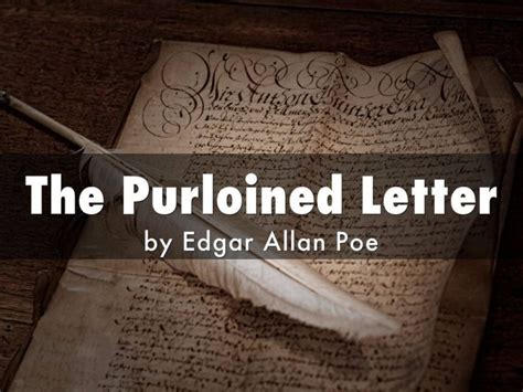 the purloined letter summary luxury the purloined letter cover letter exles 25216