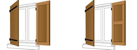 construire un volet en bois volet imitation bois pose de volets battants composite