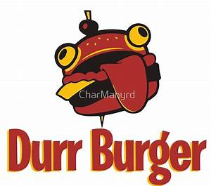 """""""Fortnite Durr Burger"""" Photographic Prints by CharManyrd"""