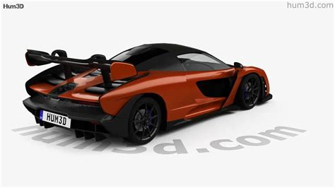 2019 Mclaren Models by Mclaren Senna 2019 3d Model By Hum3d