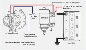 alternator and starter motor wiring diagram fasettinfo With generator motor wiring diagram