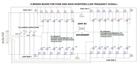 Dspicf Pure Sine Inverter Circuit With Charger