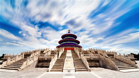 Beautiful Scene Of Beijing Temple Of Heaven Beijing