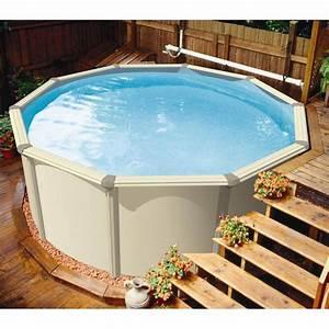 Piscine Hors Sol : piscine hors sol 3 66m ronde citadine aqua leader achat ~ Melissatoandfro.com Idées de Décoration