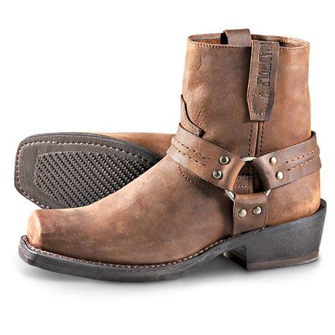 mens biker shoes men 39 s road wolf harness boots gaucho 173830