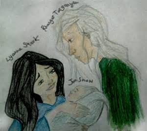 Rhaegar Targaryen and Lyanna Stark Jon Snow