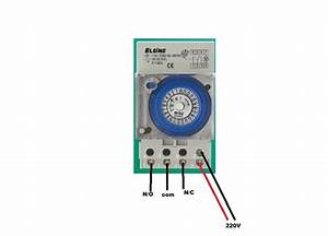 Swimming Pool Timer Wiring Diagram