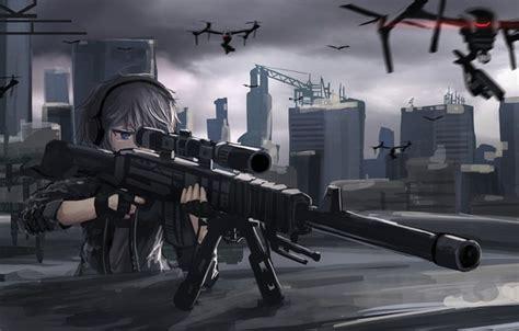 Anime Sniper Wallpaper - wallpaper gun weapon anime sniper asian