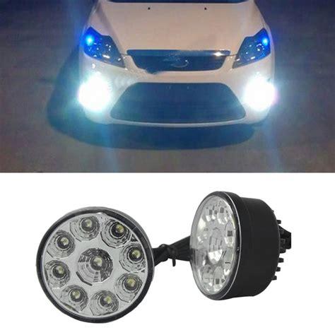 off road running lights 2pcs 9 led car head front fog light off road ls daytime