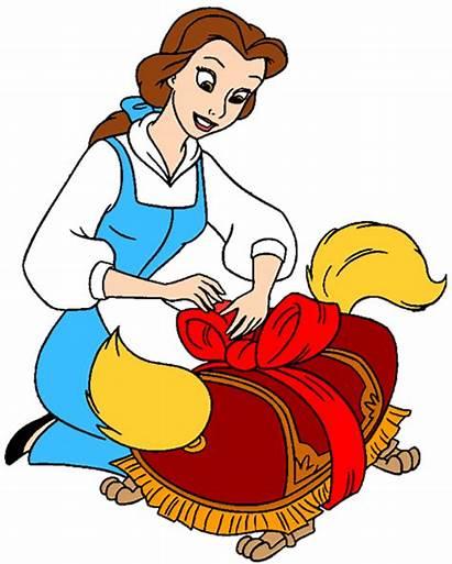 Belle Disney Clipart Princess Beast Clip Beauty