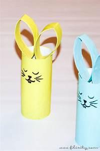Basteln Zu Ostern : basteln mit kindern osterhasen aus papierrolle filizity ~ Watch28wear.com Haus und Dekorationen