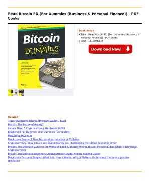 10 understanding bitcoin in video. Files download: Bitcoin for dummies pdf download