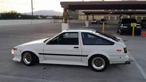 Toyota Corolla Hatchback 1985 White For Sale  Jt2ae86c9f0122539 1985 Toyota Corolla  Ae86