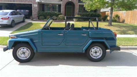 Buy Used 1974 Volkswagen Thing ; Type 181 In Arlington
