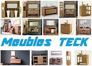 Meuble Salle De Bain En Teck Pas Cher : meubles en teck design pas cher meubles bois massif naturel vintage tv salon salle de bain ~ Teatrodelosmanantiales.com Idées de Décoration
