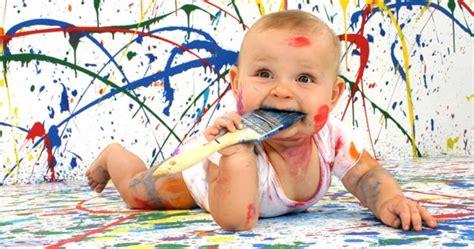 La peinture, activités pour enfants de 0 à 18 mois ...