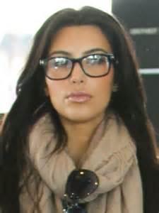Kim Kardashian Wearing Glasses